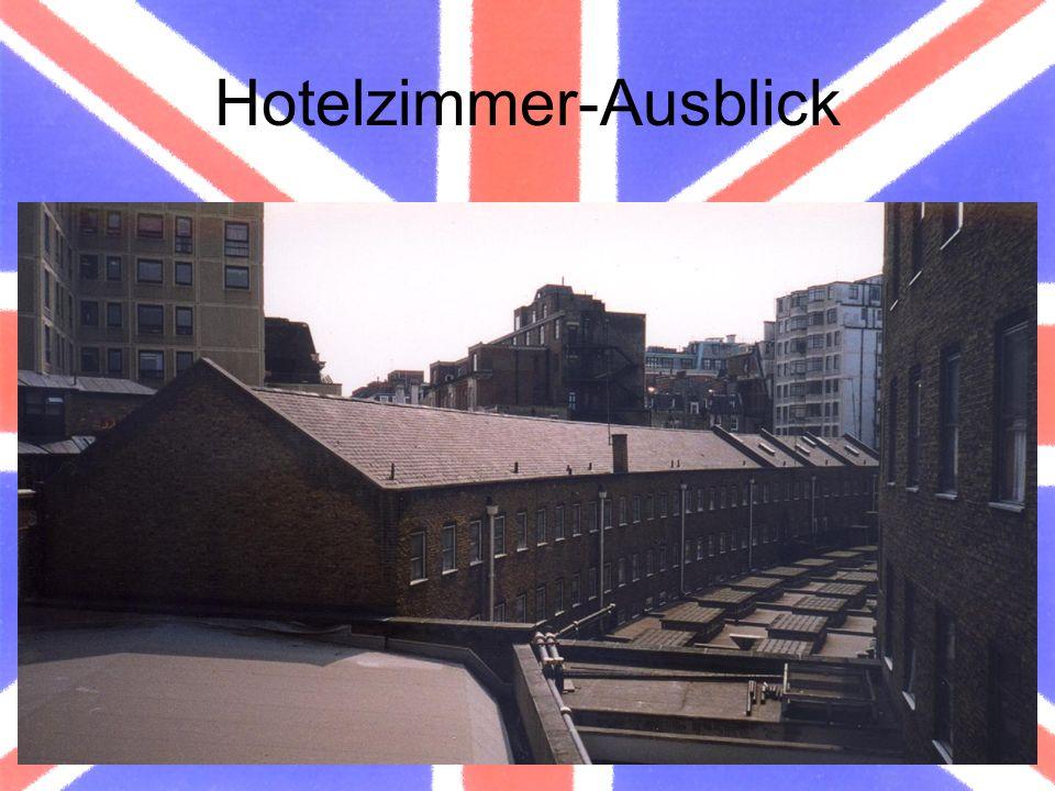 Hotelzimmer-Ausblick
