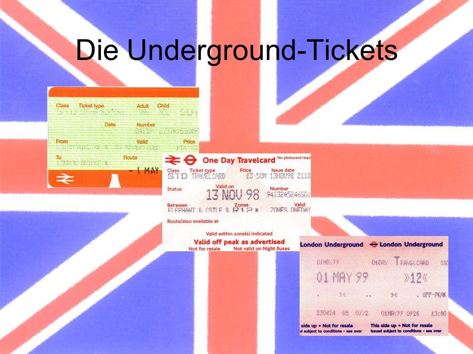 Die Underground-Tickets