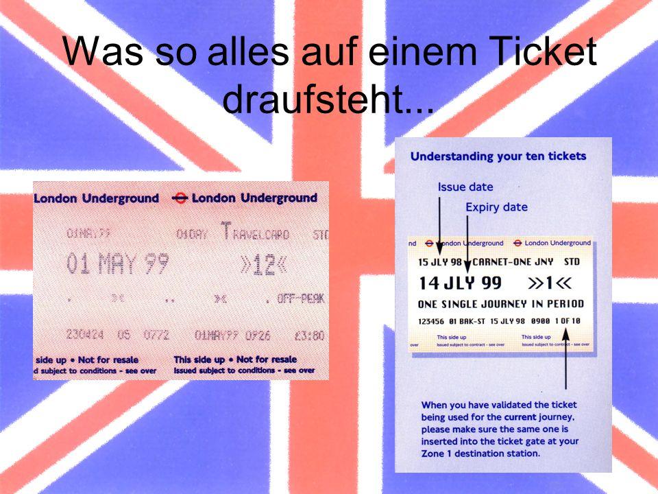 Was so alles auf einem Ticket draufsteht...