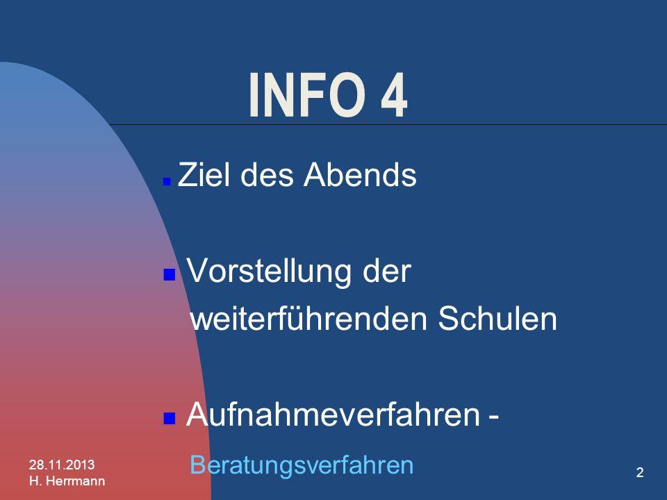 1 Herzlich willkommen! Scheffelschule Herten Fridolinschule Degerfelden 28.11.2013 H. Herrmann