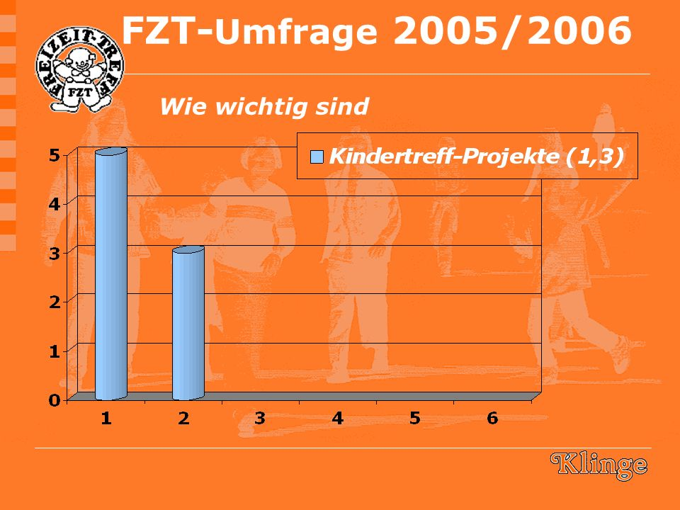 FZT- Umfrage 2005/2006 Wie wichtig sind