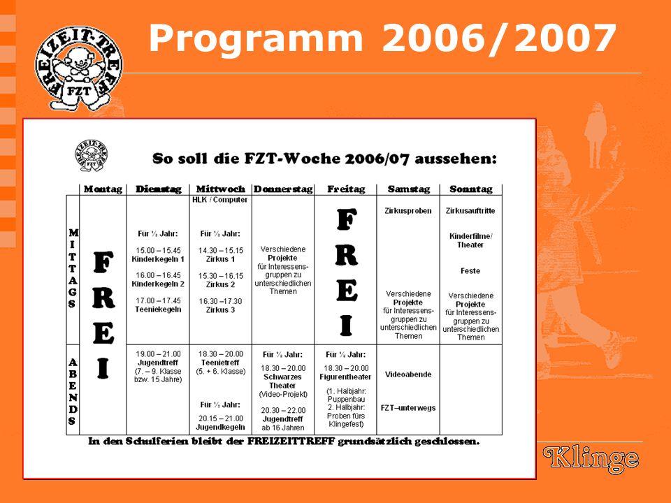 Programm 2006/2007