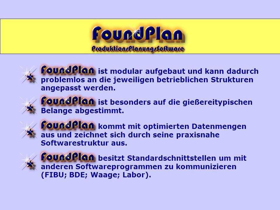 Produktion Kastendetails mit Ausschusserfassung Chargenverfolgung Abrechnung der gefertigten Formkästen FORMEN - Abrechnung