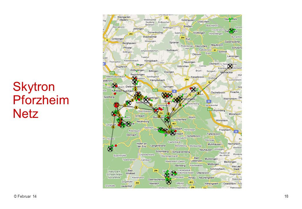© Februar 1418 Skytron Pforzheim Netz