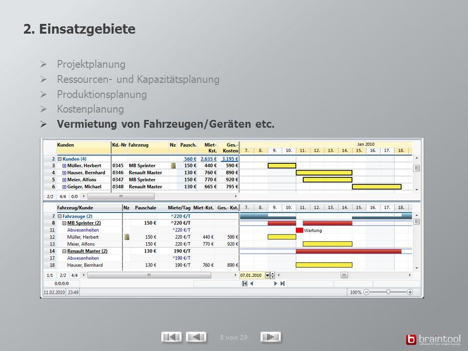 29 von 29 Der optional erhältliche WebViewer versorgt beliebige Personen mit allen erforderlichen und immer aktuellen Projektdaten.