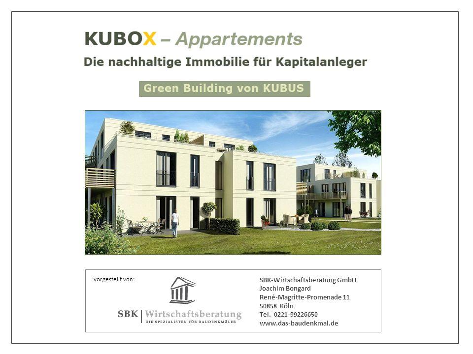 vorgestellt von: SBK-Wirtschaftsberatung GmbH Joachim Bongard René-Magritte-Promenade 11 50858 Köln Tel.