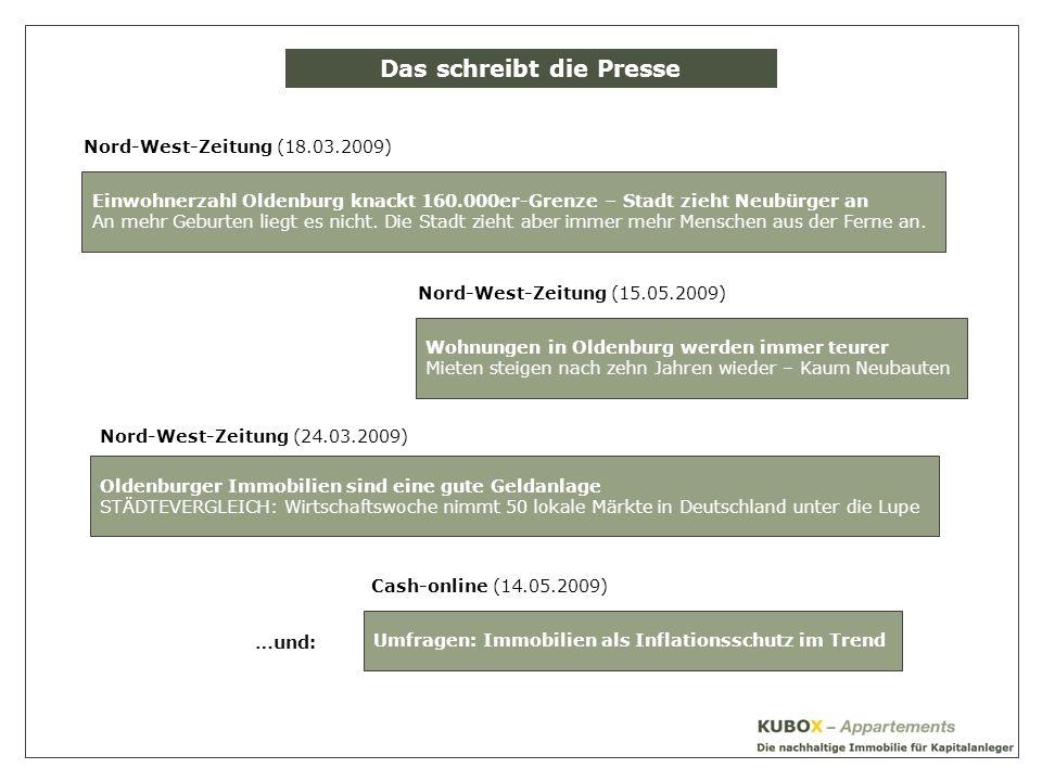 Der Standort OLDENBURG Oberzentrum der Weser-Ems-Region
