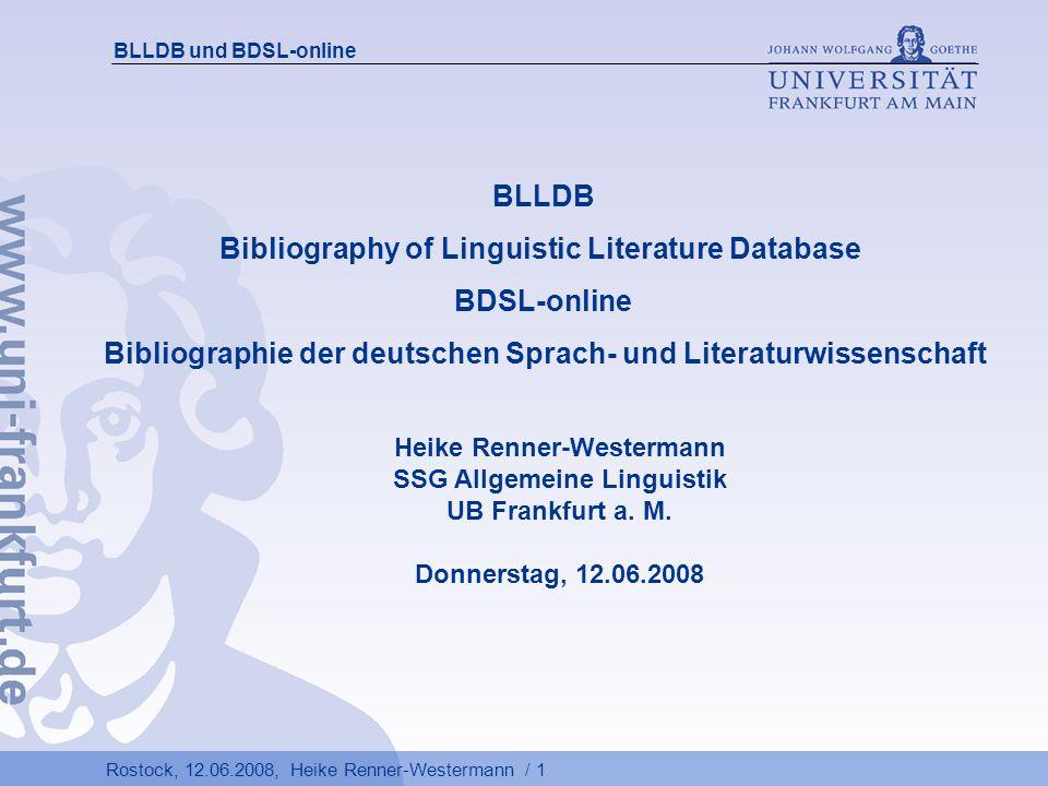 Rostock, 12.06.2008, Heike Renner-Westermann / 12 BLLDB und BDSL-online