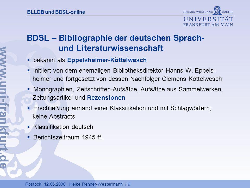 Rostock, 12.06.2008, Heike Renner-Westermann / 30 BLLDB und BDSL-online
