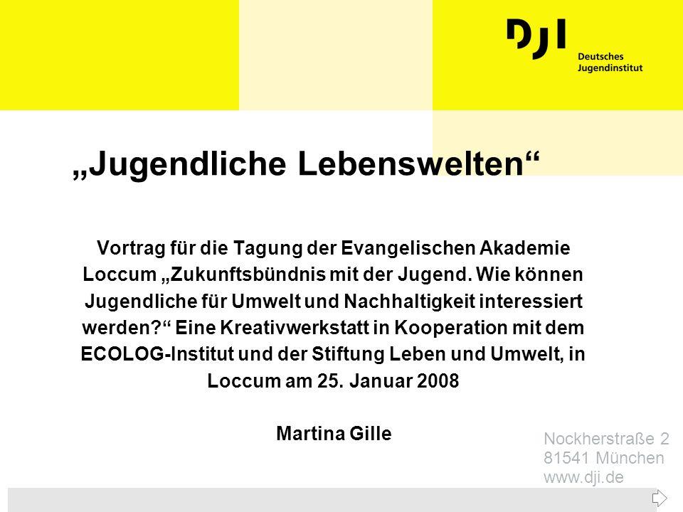 Zurück zur ersten Seite26.4.1999DJI-Jugendsurvey, M.