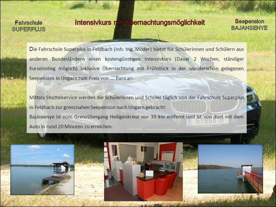 2 D ie Fahrschule Superplus in Feldbach (Inh.Ing.