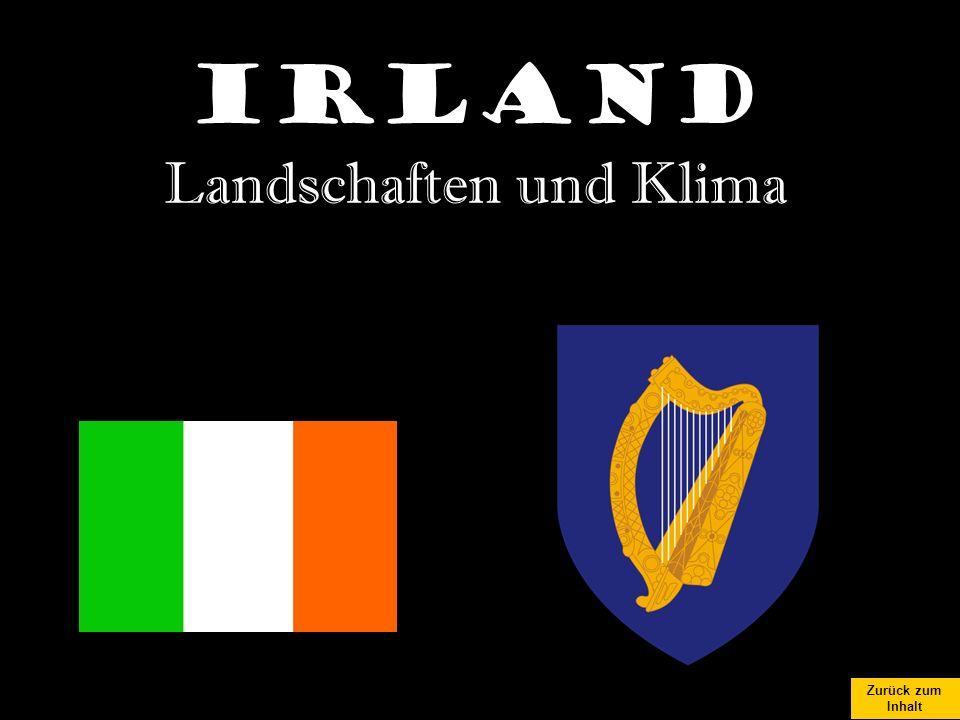 Zurück zum Inhalt Irland Landschaften und Klima