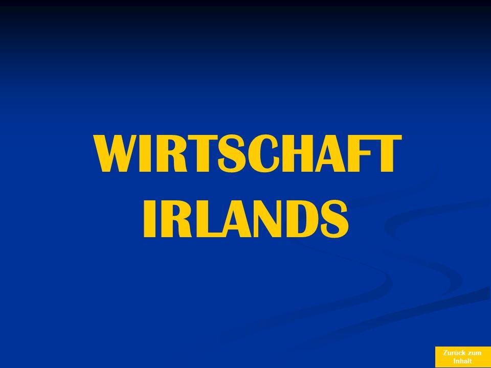 Zurück zum Inhalt WIRTSCHAFT IRLANDS