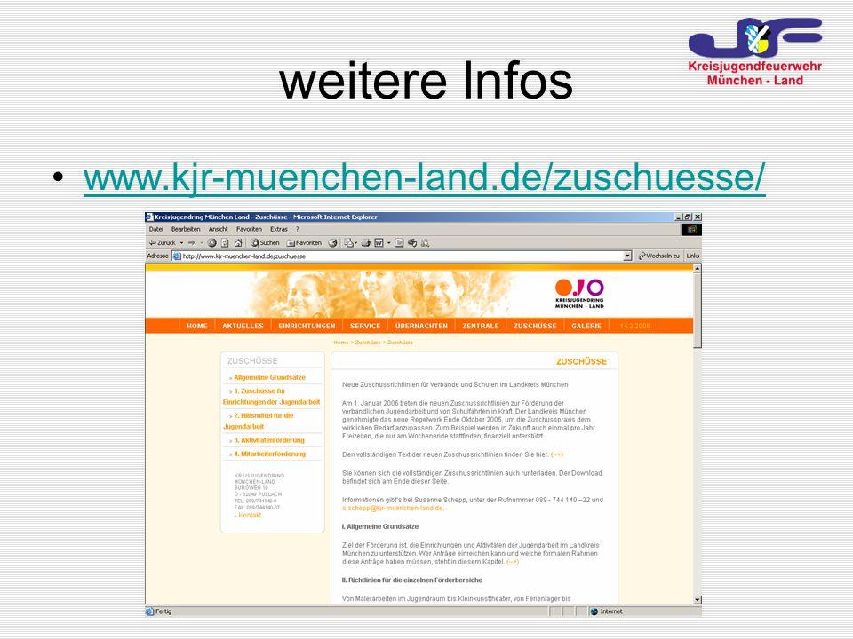 weitere Infos www.kjr-muenchen-land.de/zuschuesse/