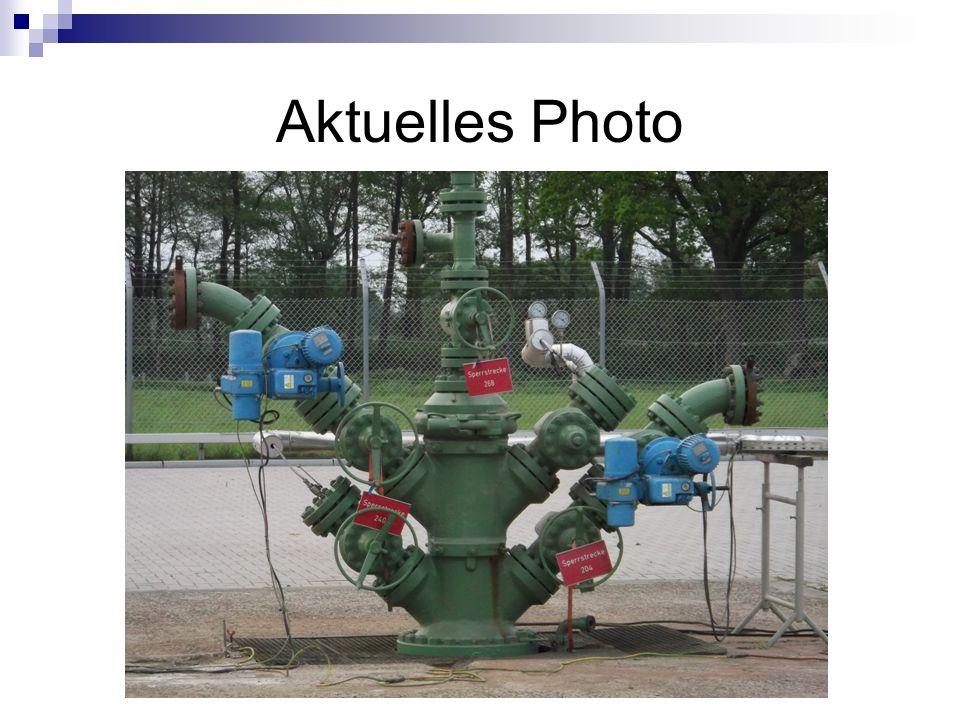 Bis 2007 wurden 9 der Bestandskavernen von Öl- auf Gasbetrieb umgerüstet, u.