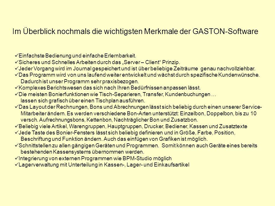Flexible Drucker- Steuerung Schank, Küche, Rechnung,…..