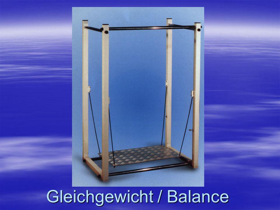 Gleichgewicht / Balance