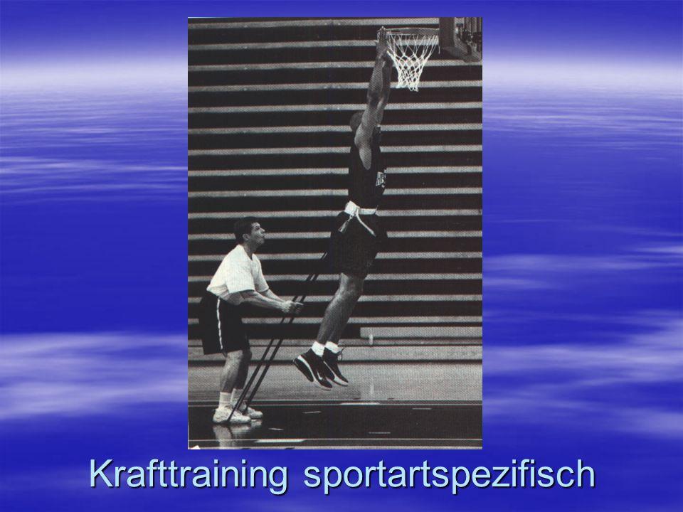 Krafttraining sportartspezifisch