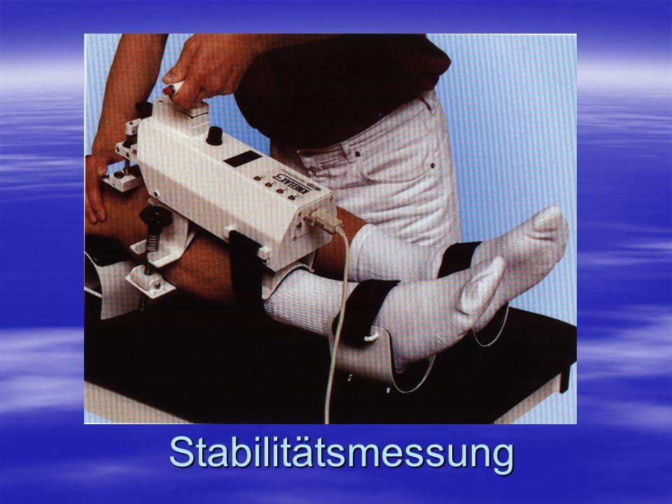 Stabilitätsmessung Stabilitätsmessung