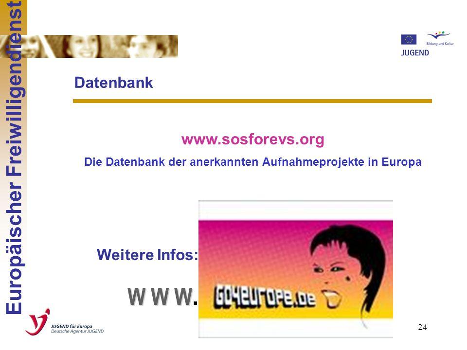 23 Entsendeorganisation: Internationale Reisekosten Freiwillige: 100 % Vorbereitung, Begleitung und Auswertung des Freiwilligendienstes: 550 EUR + 20
