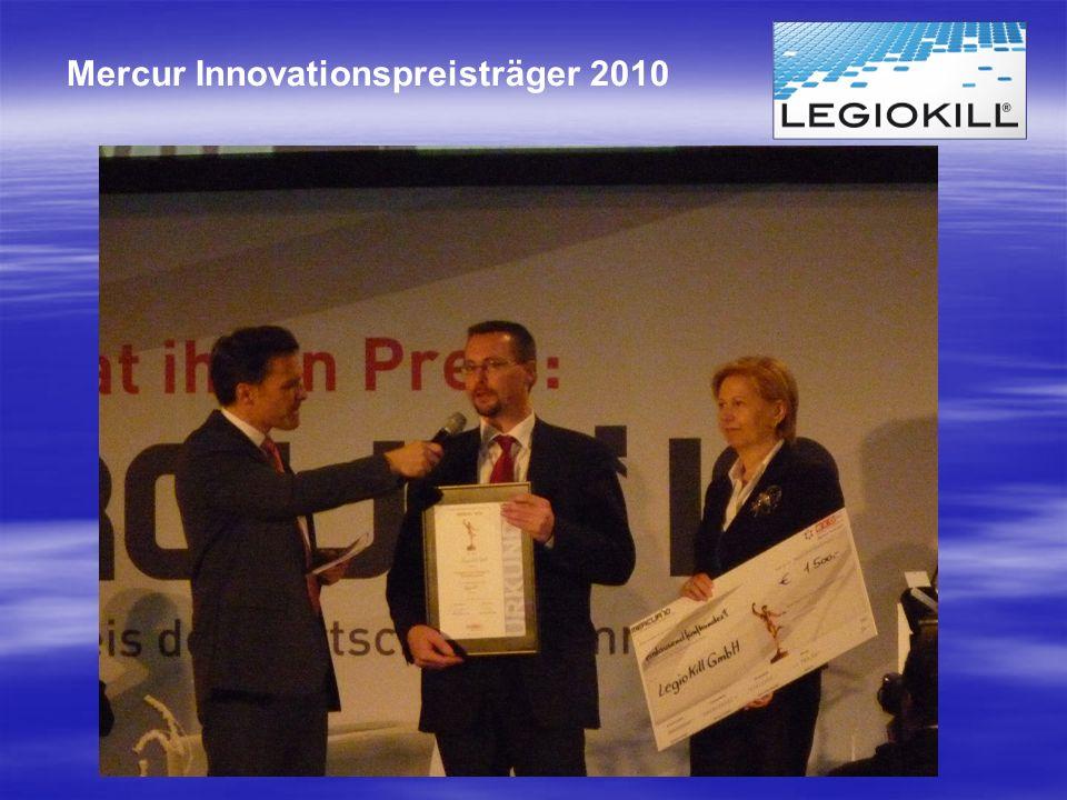 Mercur Innovationspreisträger 2010