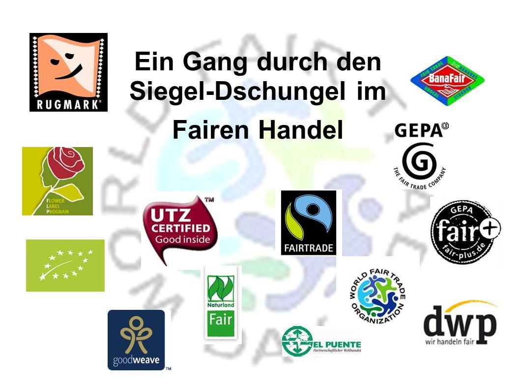 Da der Begriff FAIR nicht geschützt ist, gibt es eine Vielzahl von Logos, die mit unserem Verständnis von FAIR nichts zu tun haben.