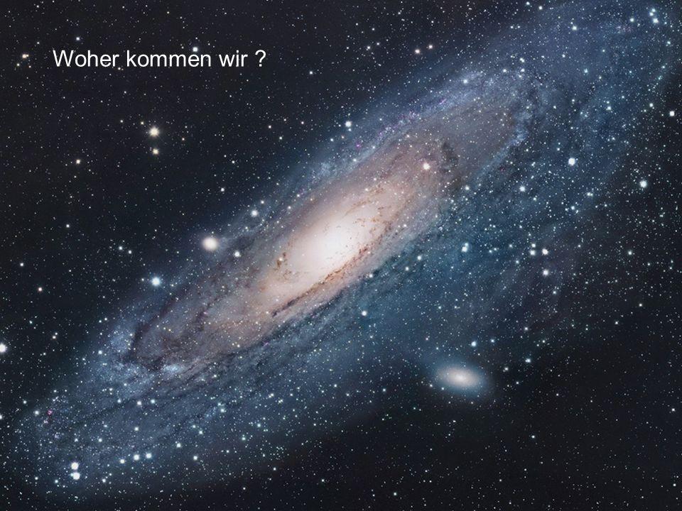 22. Dann wird unser Nachthimmel einige Tage oder Wochen so aussehen …