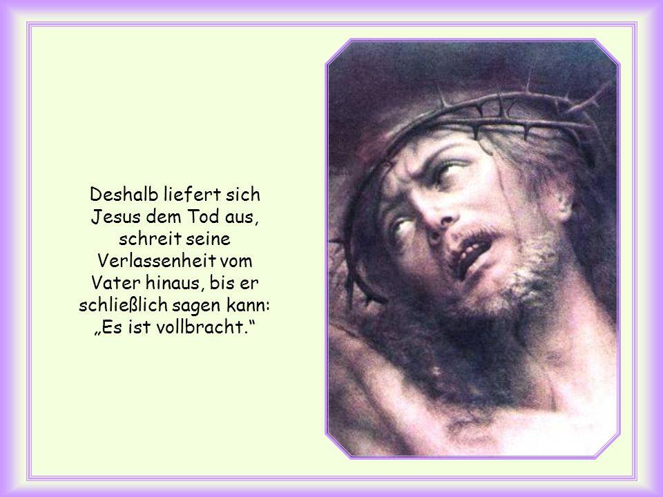 Auf diesem Weg gibt er uns Menschen, was wir am meisten brauchen: Er befreit uns von der Sünde – das heißt vom Tod; er öffnet uns den Zugang zum Himme