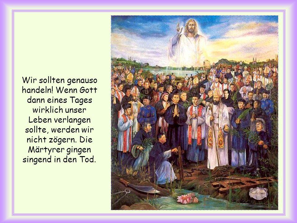 Dopo aver amato i suoi che erano nel mondo, li amò sino alla fine (Gv 13, 1). Da er die Seinen, die in der Welt waren, liebte, erwies er ihnen seine L