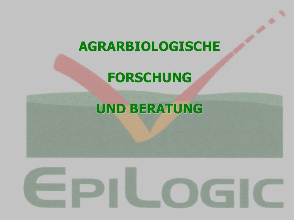 AGRARBIOLOGISCHEFORSCHUNG UND BERATUNG