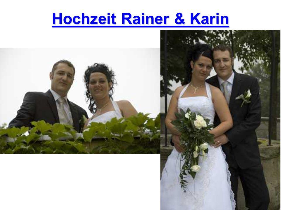 Hochzeit Rainer & Karin