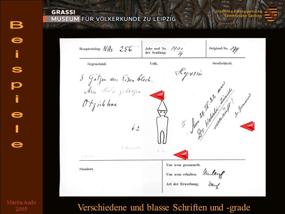 Marita Ando 2005 Beispiel 4 Verschiedene und blasse Schriften und -grade