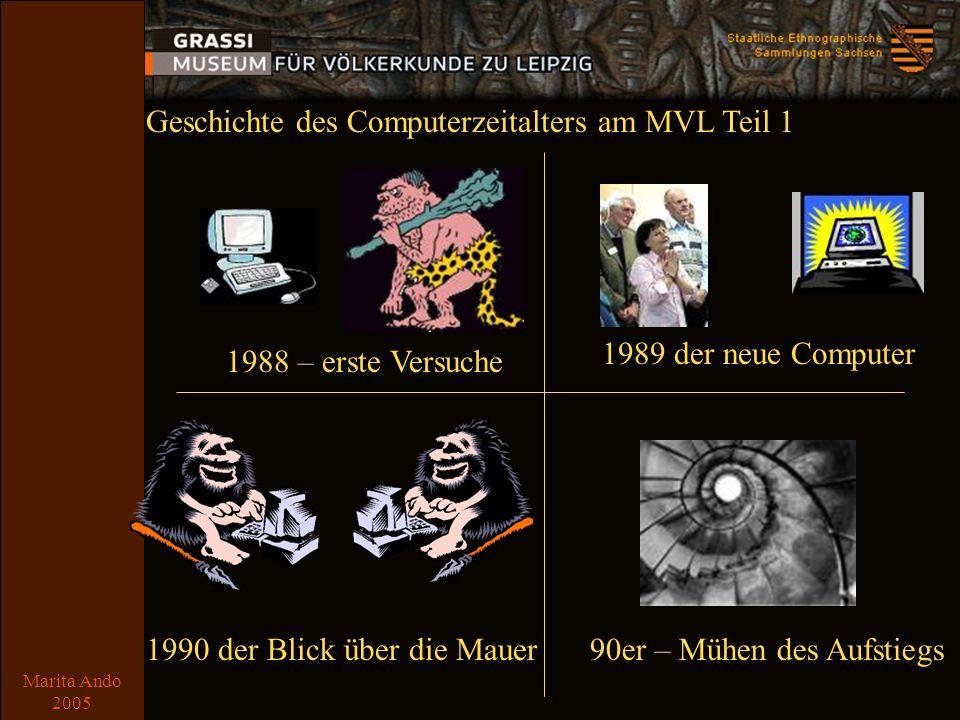 Marita Ando 2005 Comic 2 2001 - Auslagerung2004 Fusion zur SES 2005 – Blick zurück ff.