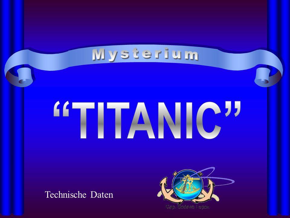 Die Titanic im Grössenvergleich