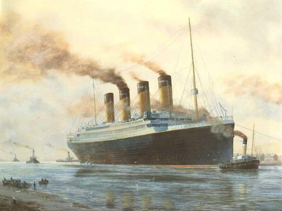 Die vier Schornsteine der Titanic waren 24,54 bis 24,84 Meter hoch.