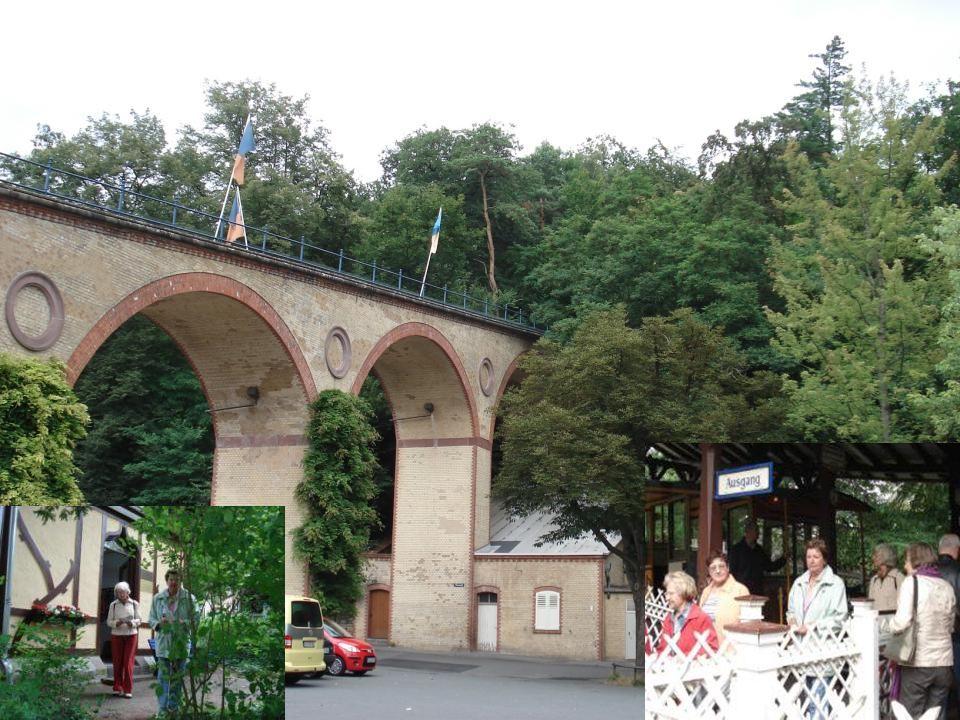1888 wurde die Nerobergbahn in Betrieb genommen und steht heute unter Denkmalschutz.