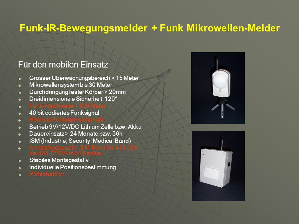 Funk-Alarmsensorik Funk-Optischer Rauchmelder EC 1003 VdS G20160 Rauchdetektion durch eine Messkammer nach Streulichtprinzip.