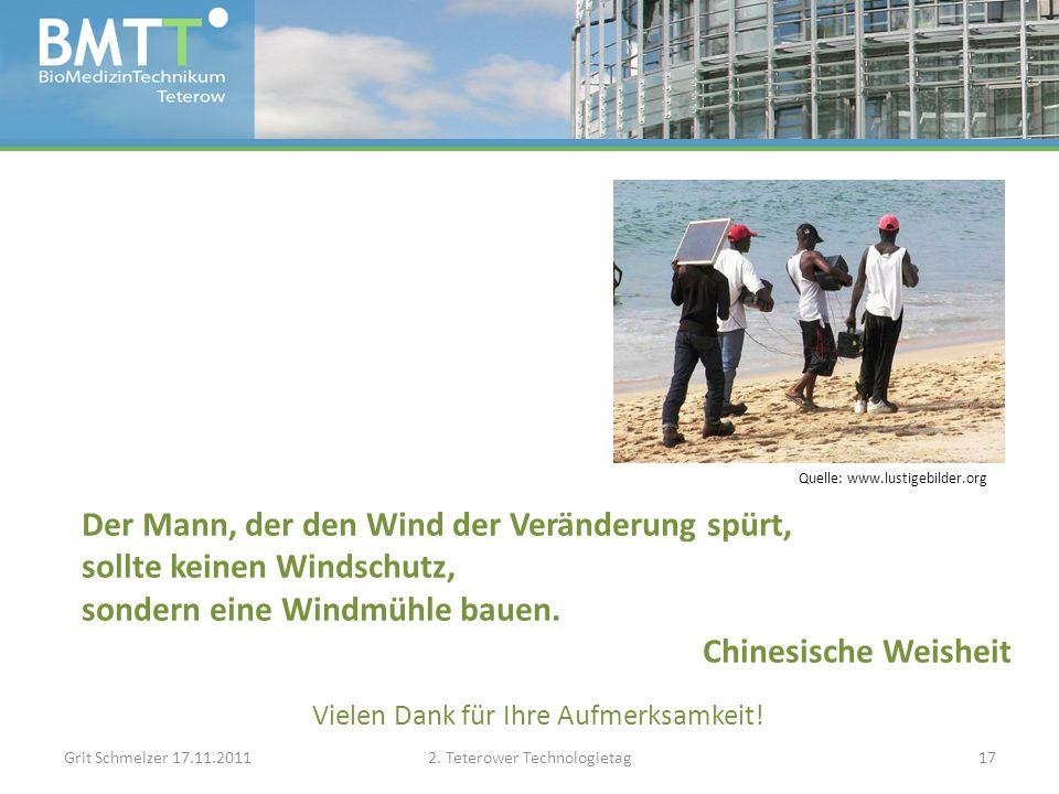 Vielen Dank für Ihre Aufmerksamkeit. Grit Schmelzer 17.11.20112.