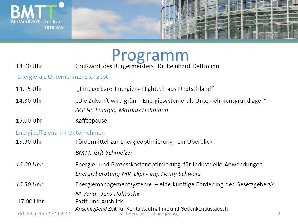 KfW-Energieeffizient sanieren (für Privatpersonen) Grit Schmelzer 17.11.20112.
