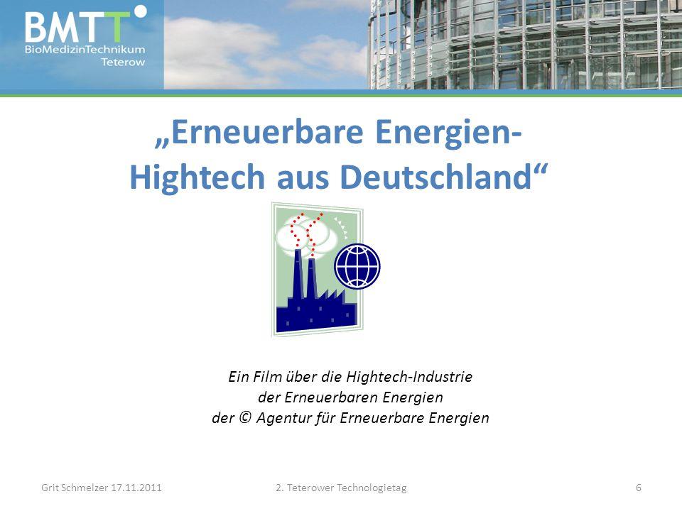 Vielen Dank für Ihre Aufmerksamkeit.Grit Schmelzer 17.11.20112.
