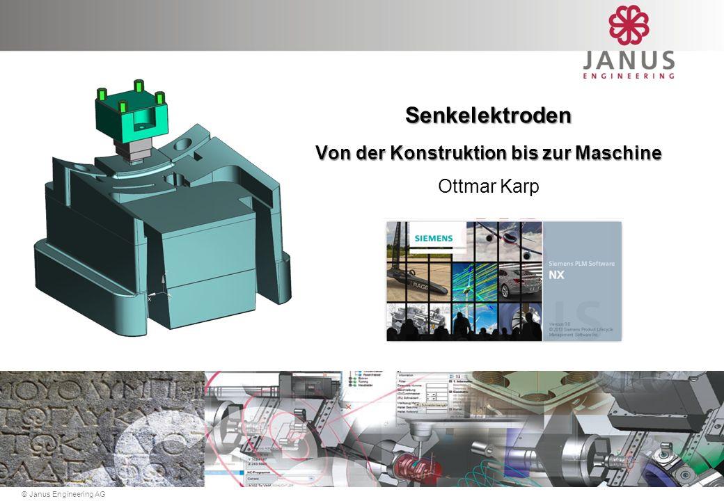 © Janus Engineering AG Senkelektroden Von der Konstruktion bis zur Maschine Ottmar Karp