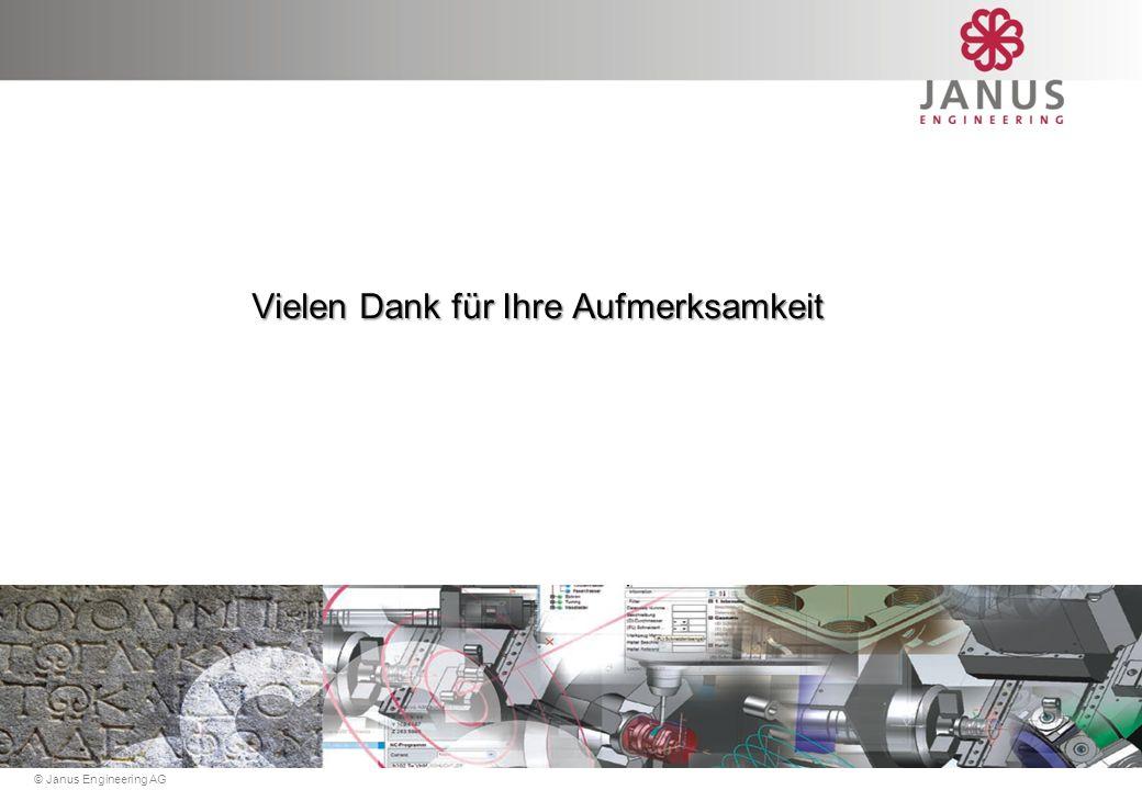 © Janus Engineering AG 2013 Demo Elektroden-Designer Elektroden Fräsgeometrie Elektroden-Designer