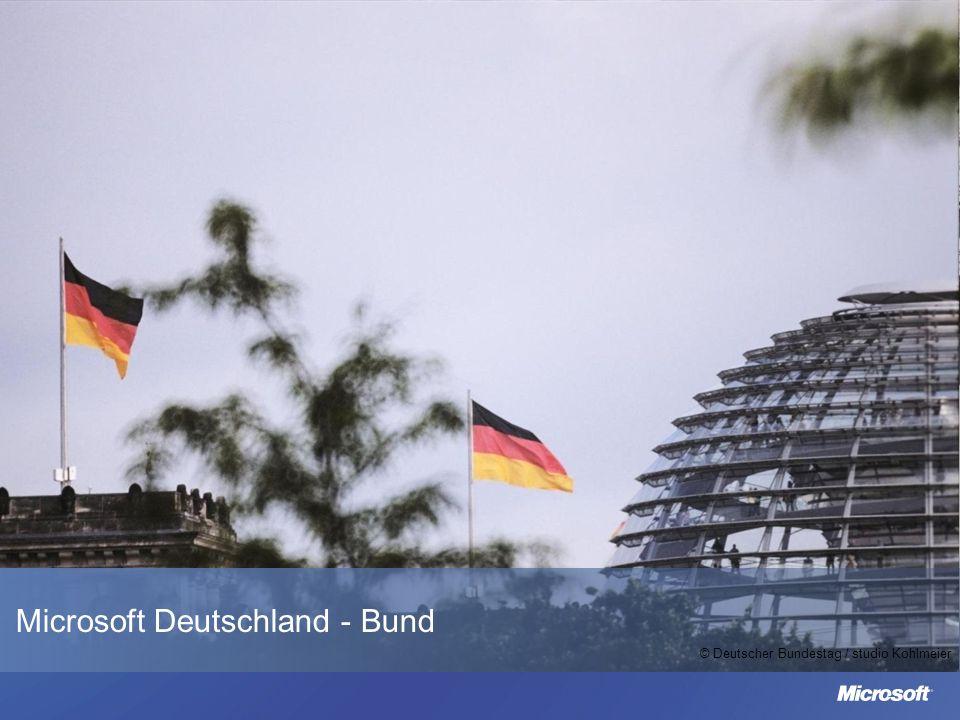 Microsoft Deutschland - Bund © Deutscher Bundestag / studio Kohlmeier