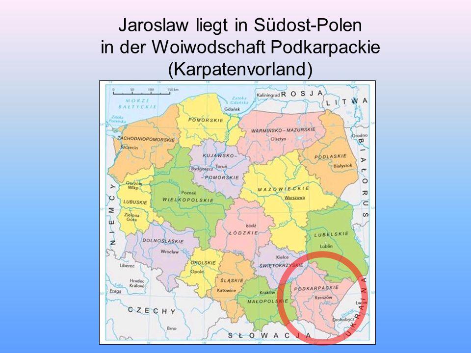 Jaroslaw ist die Hauptstadt des gleichnamigen Kreises.