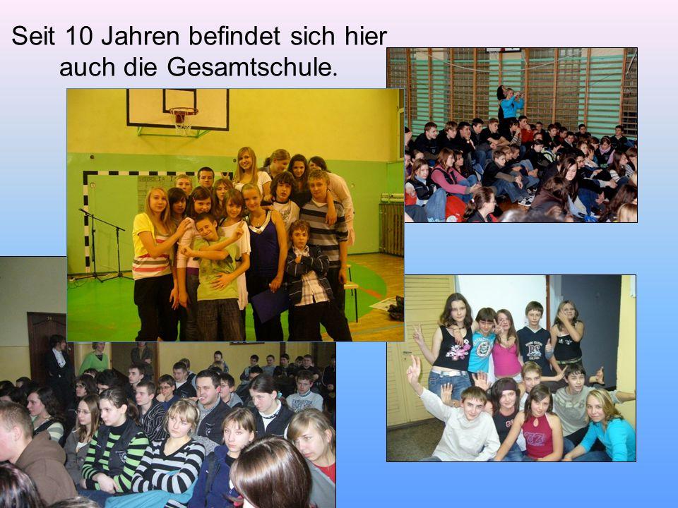 Die Schule besuchen ca.500 Schüler im Alter von 7 bis 16 Jahren.