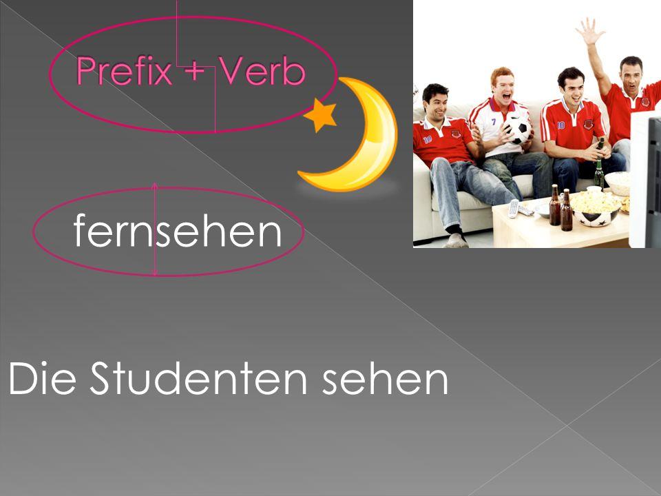 fernsehen Die Studenten sehen