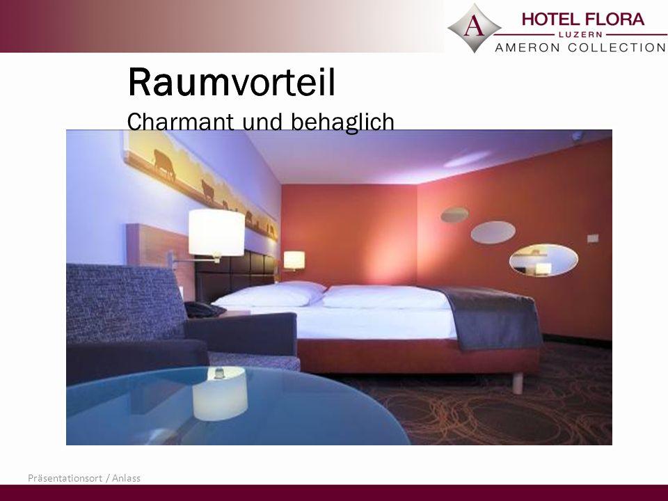 Raumvorteil Stilvoll und modern Präsentationsort / Anlass