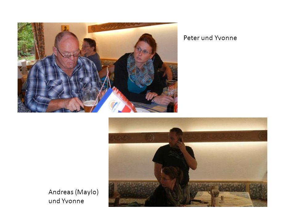 Peter und Yvonne Andreas (Maylo) und Yvonne