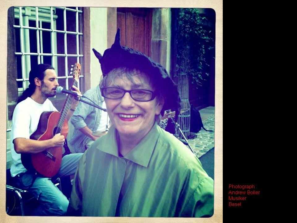 Photograph : Andrew Boller Musiker Basel