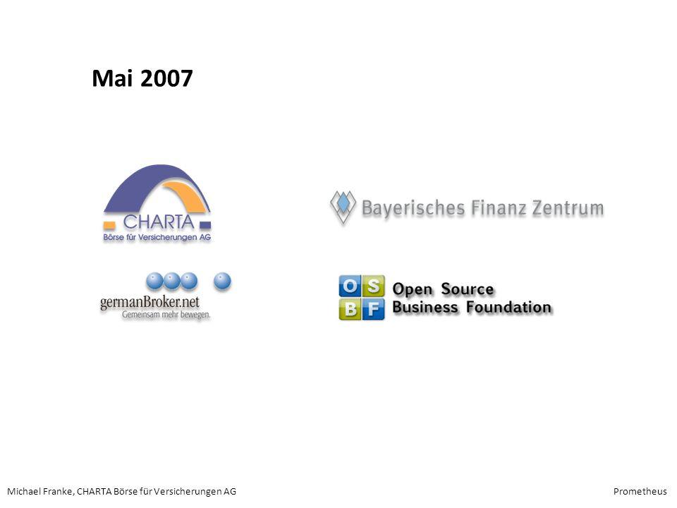 Michael Franke, CHARTA Börse für Versicherungen AGPrometheus Mai 2007